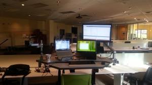 My spaceship workstation