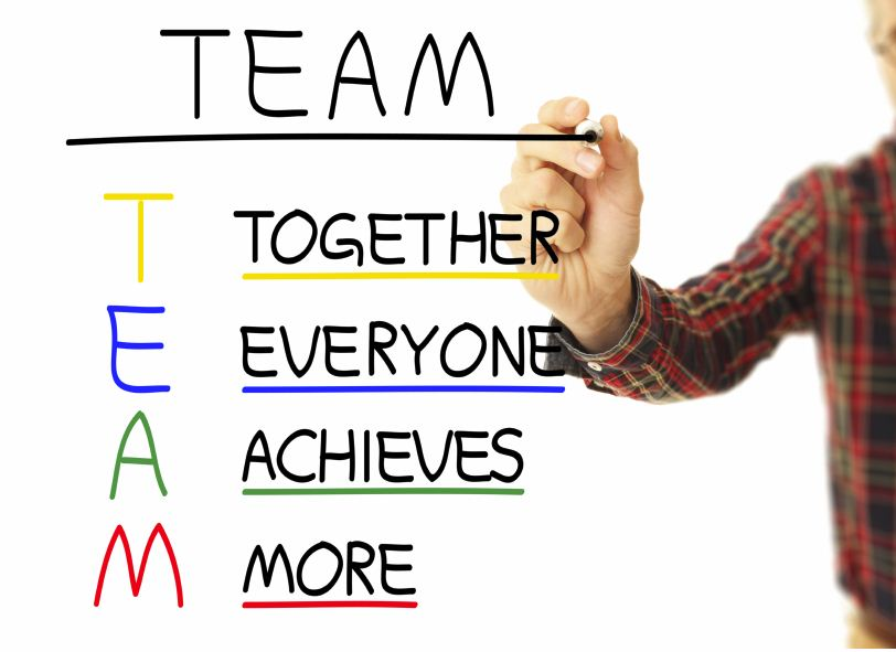 There is no 'I' in Teamwork