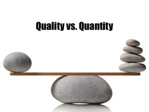 Quality-vs.-Quantity